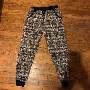 Pants - Printed pattern joggers
